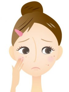 敏感肌 アトピー性皮膚炎 化粧かぶれ ニキビ 脂漏性皮膚炎