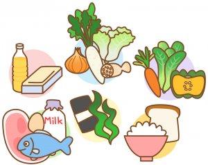 ニキビ 食べ物 栄養素 ビタミンB群 ビタミンE